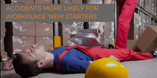 Accidents more likely for new starters