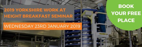 2019 Yorkshire Work at Height Breakfast Seminar