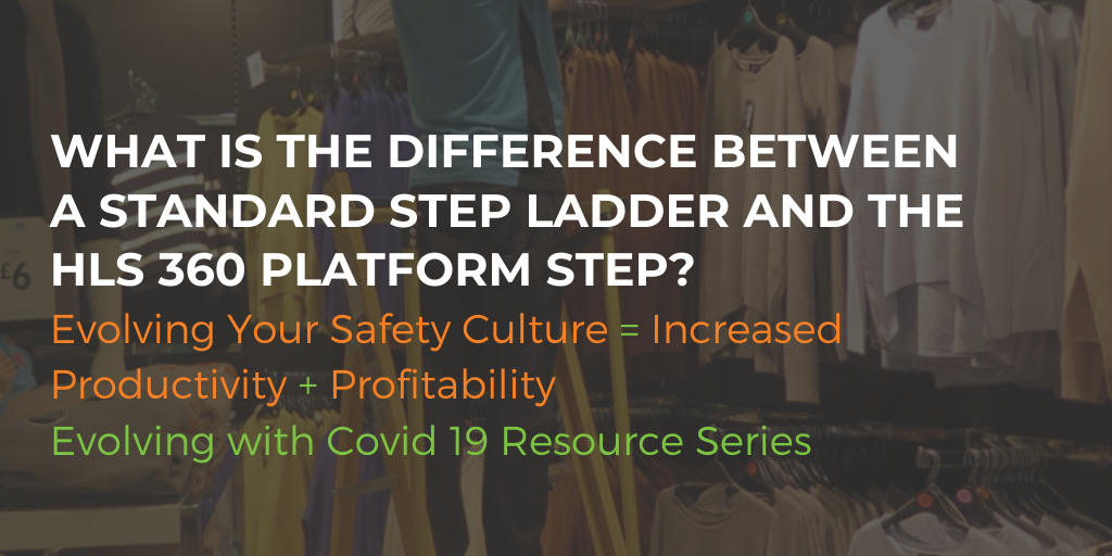 What's the difference between a standard step ladder & the HLS 360 Platform Steps?