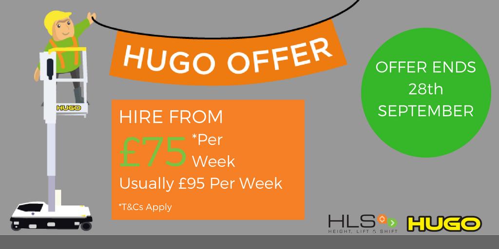 Hugo holiday Hire Offer
