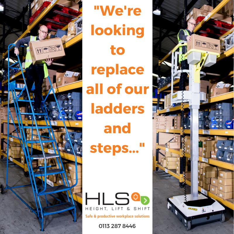 Why Look for Alternatives to Ladders and Steps?