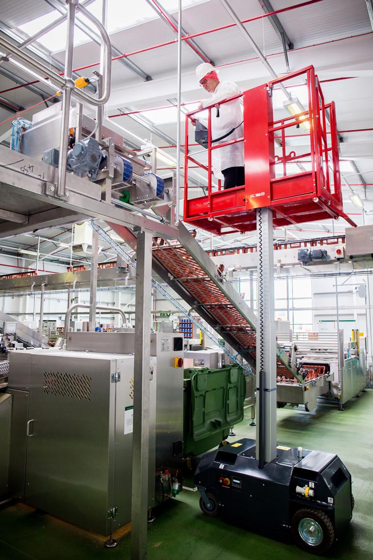Bravi Leonardo doing conveyor inspection