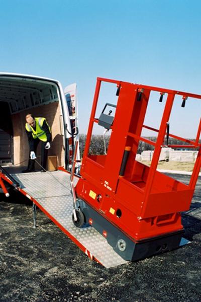 The Bravi Leonardo Is A 4 9m Lightweight Access Platform