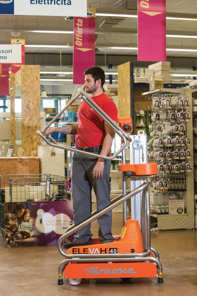 Faraone Elevah 40 move in retail
