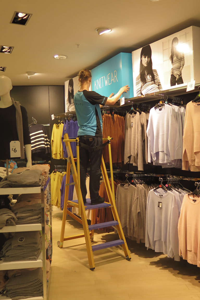 HLS 360 platform steps visual merchandising
