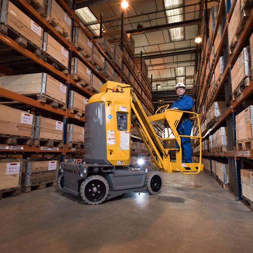 Haulotte Star 10 lift in warehouse