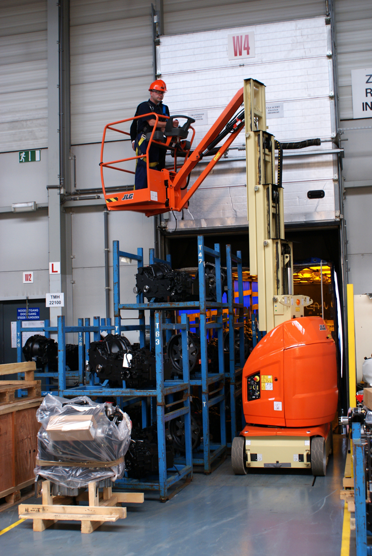 JLG Toucan 10E Mast lift Boom