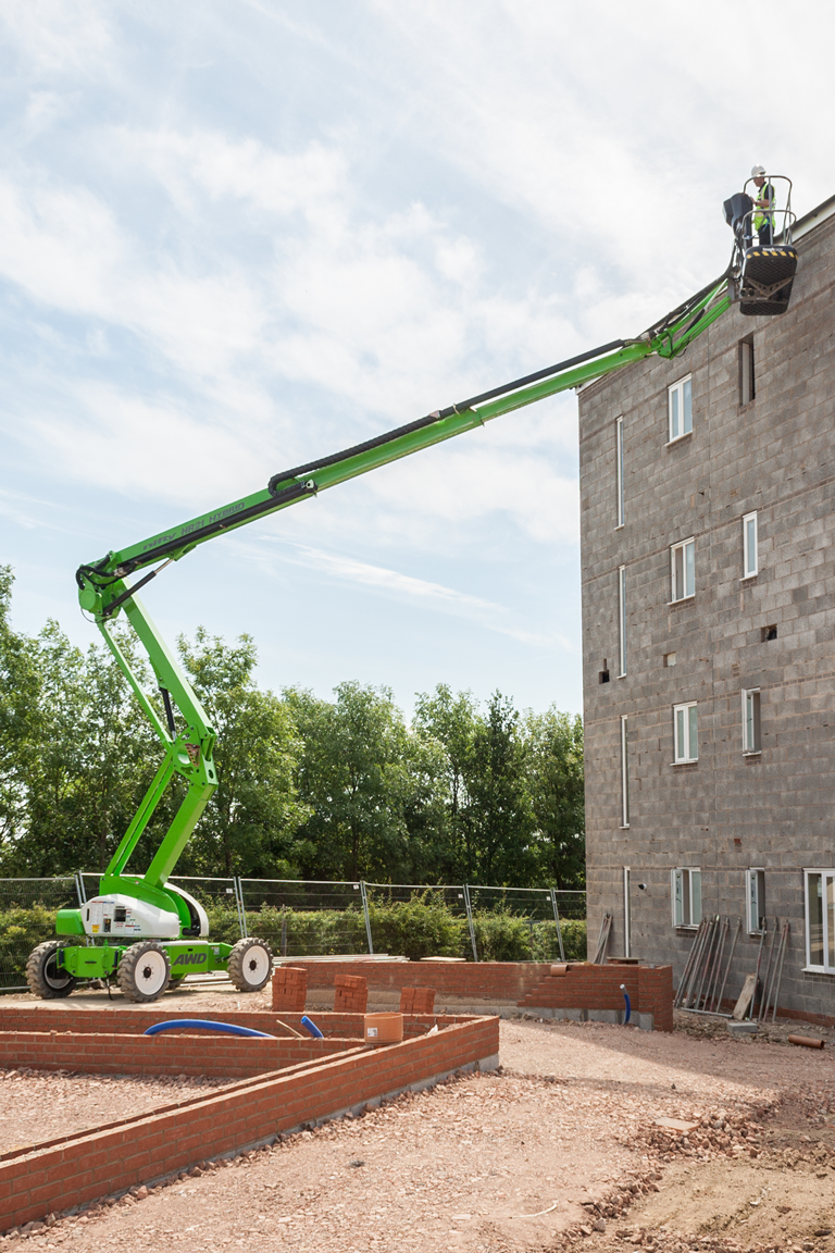 Niftylift HR21 hybrid compact boom lift
