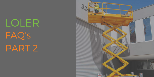 Lifting Operations & Lifting Equipment Regulations (LOLER) FAQs Part 2