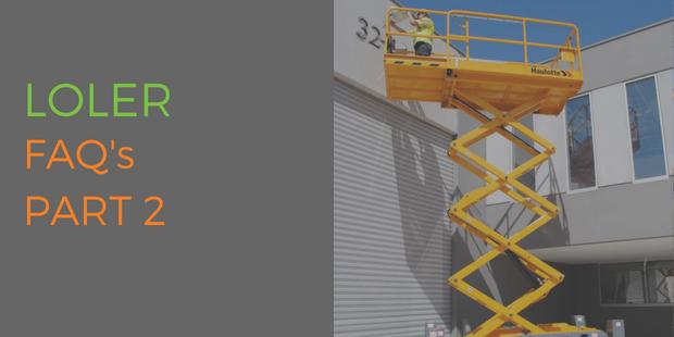 Lifting Operations & Lifting Equipment Regulations (LOLER) FAQs Part 2