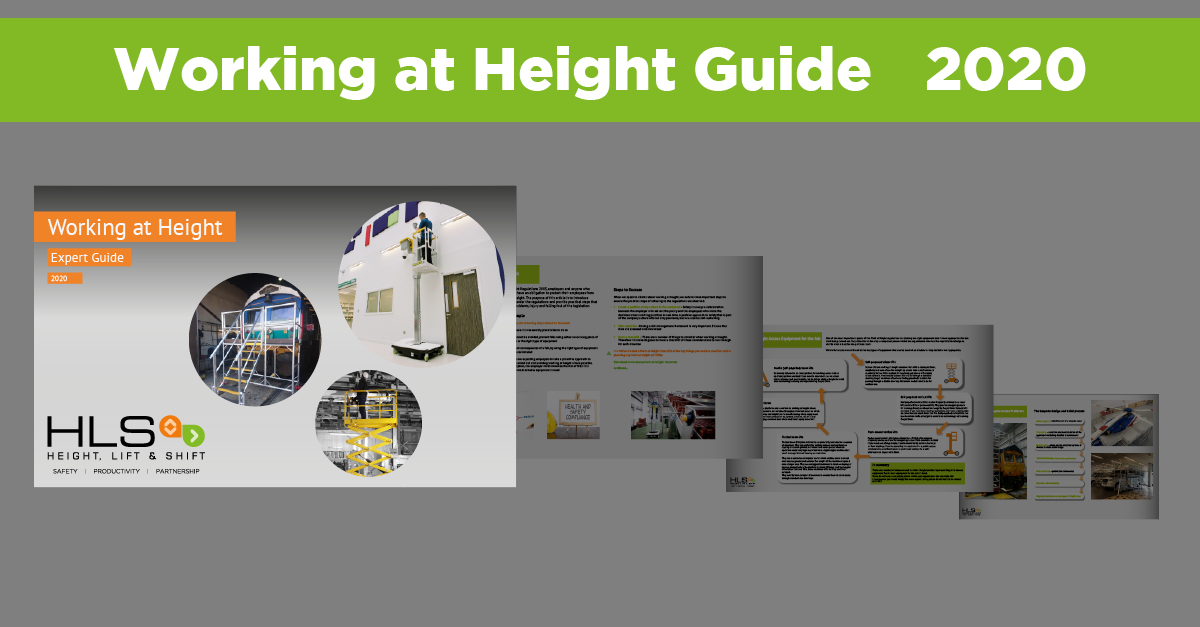 Working at Height Expert Guide 2020