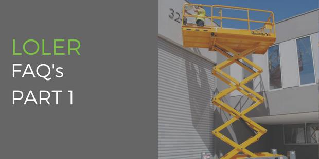 Lifting Operations & Lifting Equipment Regulations (LOLER) FAQs Part 1