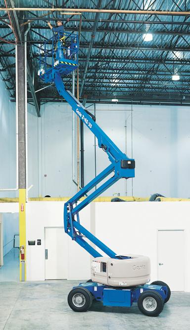 Articulated boom lift Z-4525-DC cherry picker