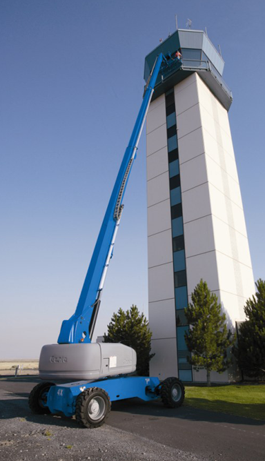 Telescopic boom lift S105 cherry picker