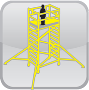 HLS mobile access equipment manual and bespoke work at height platforms