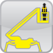 HLS mobile access equipment tracked boom lifts aka spider lifts