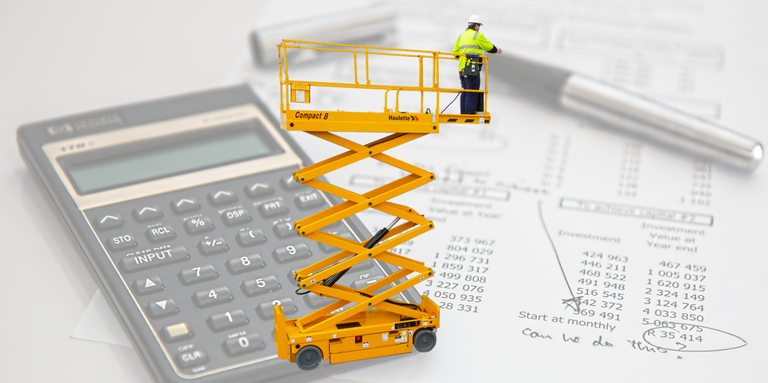 Scissor lift lease