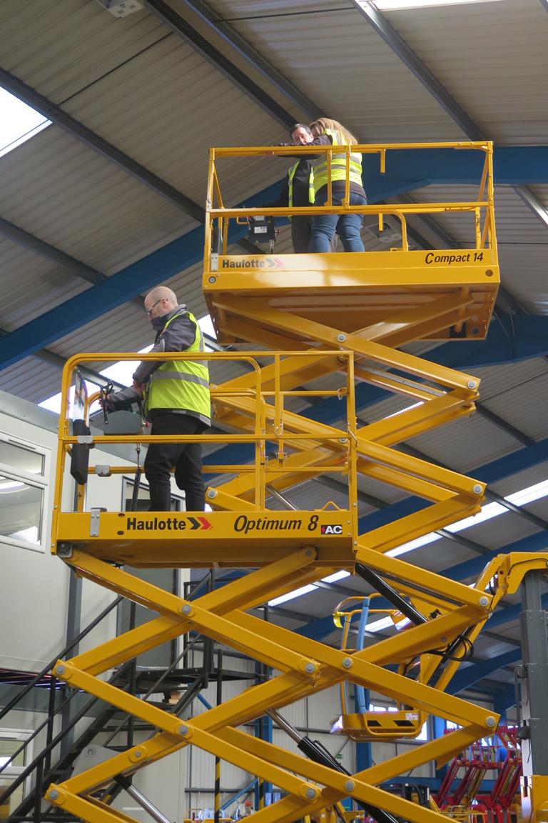HLS IPAF operator training 3a - scissor lifts