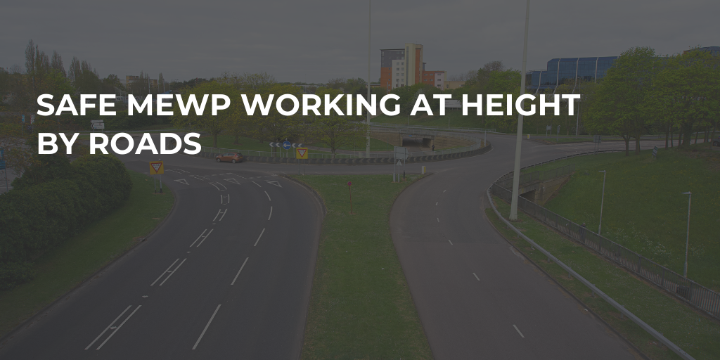 Safe MEWP Working At Height By Roads