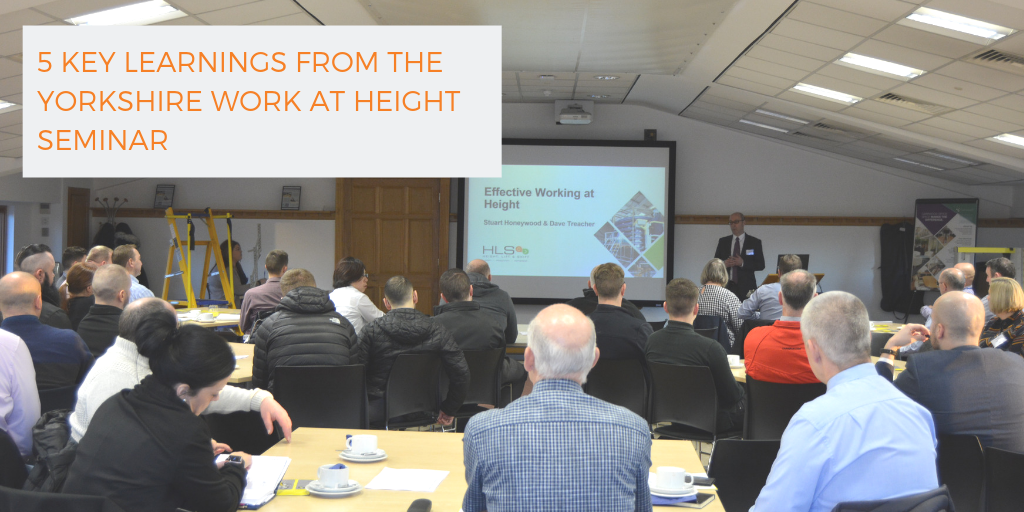 5 key learnings from The Yorkshire Work at Height Breakfast Seminar