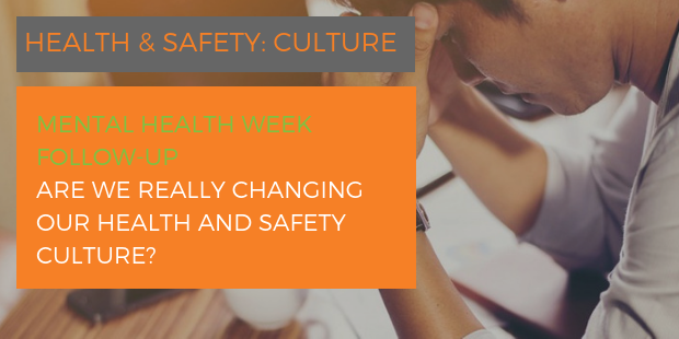 Are we really changing our Health and Safety culture?