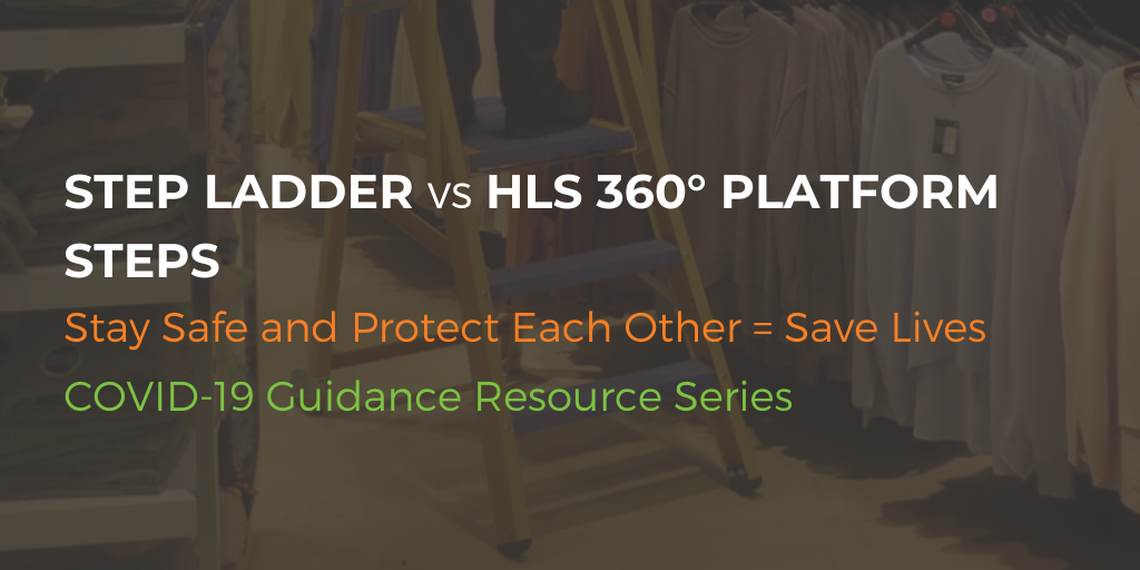 HLS 360 Vs Platform Step Ladders